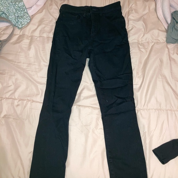 Express Brand New Never Worn Black Skinny Jeans